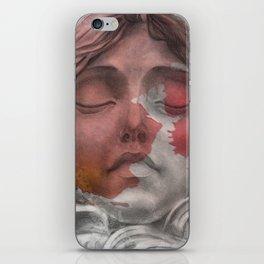 mascaron iPhone Skin