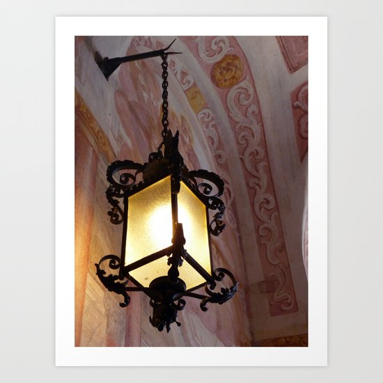 Lighting Slovenia Art Print