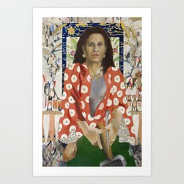 Yael Approaches the General Art Print
