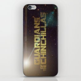 Guardians of the Chinchillas iPhone Skin