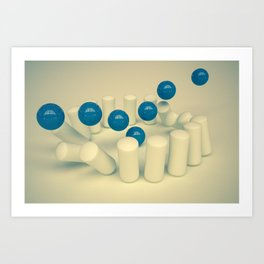 Accuracy Art Print