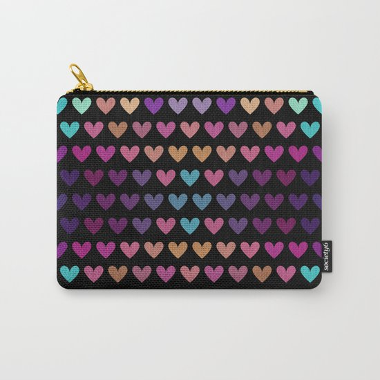 Colorful hearts IV Carry-All Pouch