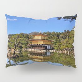 Kinkaku-ji, Golden Pavilion Temple Pillow Sham
