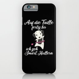 Dogs The Hullern Smart Hoop Sport Dalmatian iPhone Case