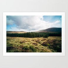 Wicklow Pass Art Print