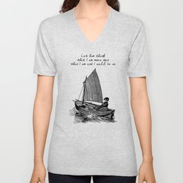 Ernest Hemingway - The Old Man and the Sea Unisex V-Neck