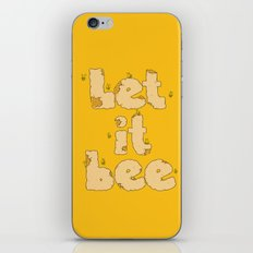 Let It Bee iPhone & iPod Skin