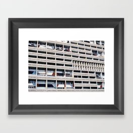 unite d`habitation Framed Art Print
