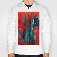 tame impala Hoodies featuring Tame Before the Storm by Katie Anderson Art