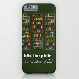 For The Love Of Books iPhone Case