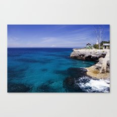 Caribbean Ocean Canvas Print
