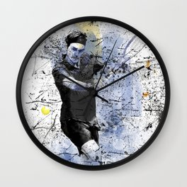 Game, Set, Match Wall Clock