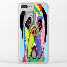 Mastiff Clear iPhone Case