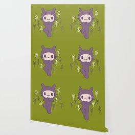 Yoga Pose Tree Bunny Wallpaper