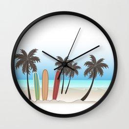 Beachlife Wall Clock