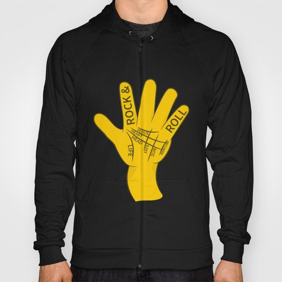 Palmistry Rock and Roll Hoody