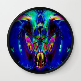 Dragon Dolphin Cave Wall Clock
