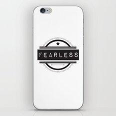 #Fearless iPhone & iPod Skin