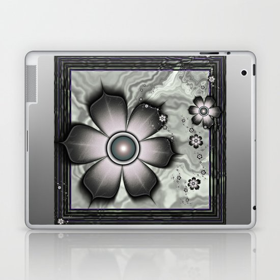 Magic Metal Flowers Laptop & iPad Skin