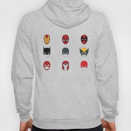 Superhero Masks 3 Hoody