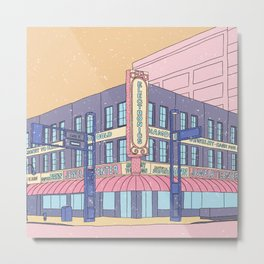 North Center Street - Reno, USA Metal Print