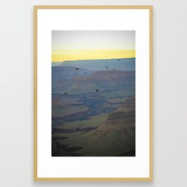 Flight 13 Framed Art Print
