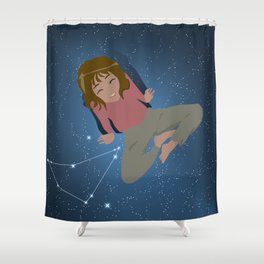 Gift for Capricorn Women Shower Curtain