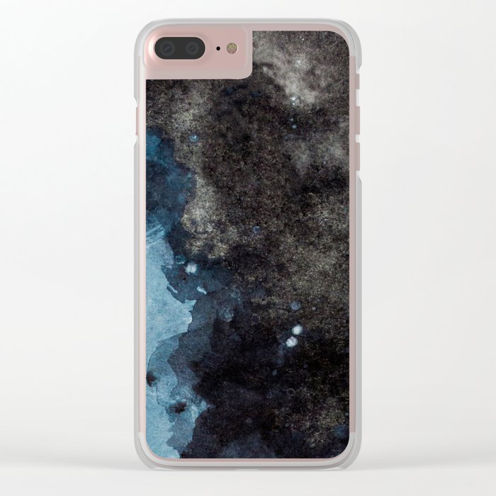 Space Chapter 4 Clear iPhone Case
