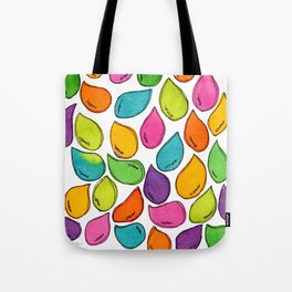 We Were Just Babies When We Were Born colorful pattern peaceful illustration ink painting abstract Tote Bag