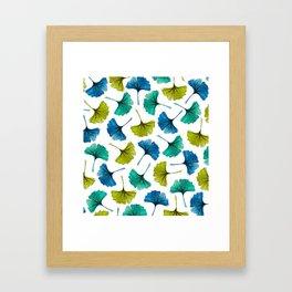 Ginkgo Flush Framed Art Print