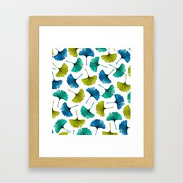 Ginkgo Flush Framed Art Print