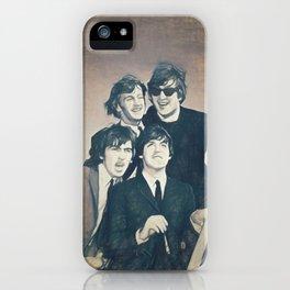Beatle - John, Paul, George, and Ringo iPhone Case