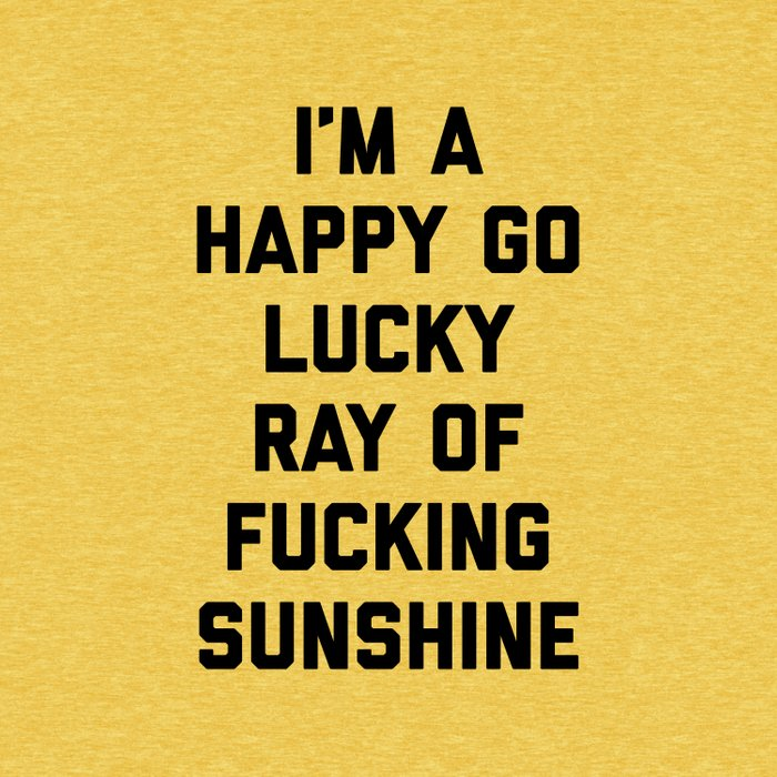 Ray Of Fucking Sunshine Funny Quote Comforters
