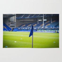Corner flag Rug