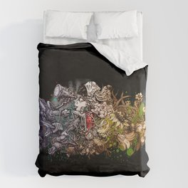 People desire nature- In the night Duvet Cover