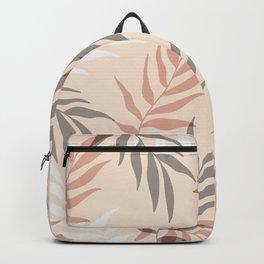Modern Palm Leaves Pattern Backpack