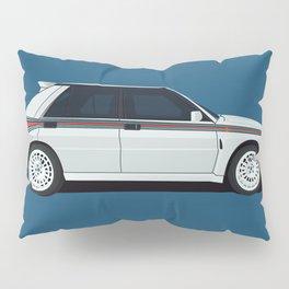 rally racing car Pillow Sham