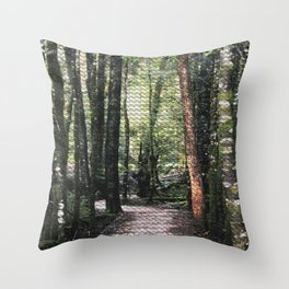 Franklin-Gordon Wild Rivers National Park  Throw Pillow