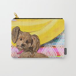 Bananas for Piper Carry-All Pouch