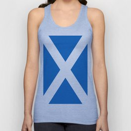 Flag of Scotland Unisex Tank Top