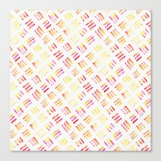 Day 004: Margot's Daily Pattern Canvas Print