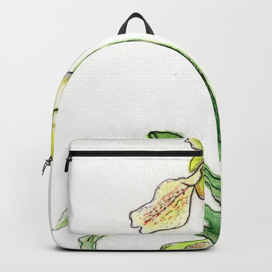 Slipper Orchid Backpack