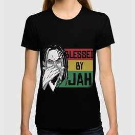Blessed by Jah saying T-shirt