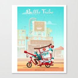 Battle Trike Aficionado Canvas Print