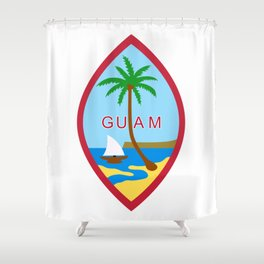Seal of Guam Shower Curtain