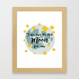 Bing Bong Moon Framed Art Print