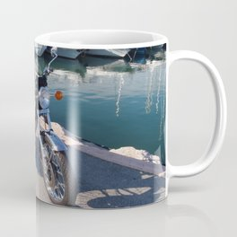 Classic Two Stroke Motorcycle Coffee Mug