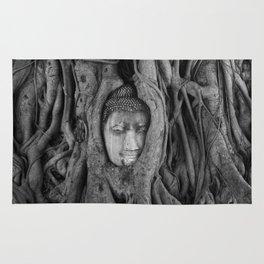 its complicated [square] - vine buddha Rug