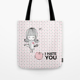 I Hate You / Guglielmo Tell Tote Bag