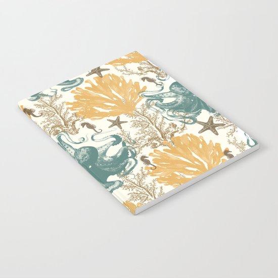 Aquatic Pattern 2 Notebook